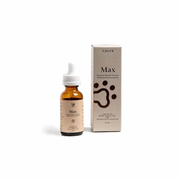 MAX CBD Oil for Pets by CALYX 1